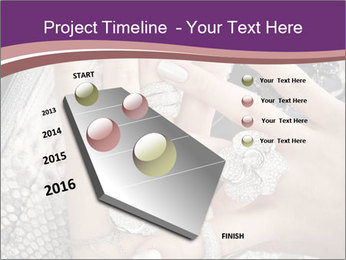 Hands with accessory PowerPoint Template - Slide 26