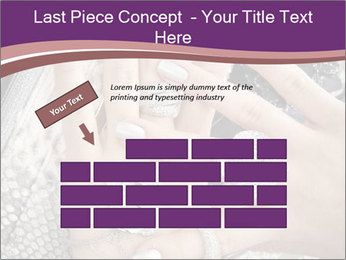 Hands with accessory PowerPoint Template - Slide 46