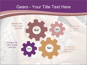 Hands with accessory PowerPoint Template - Slide 47