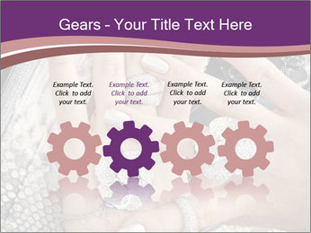 Hands with accessory PowerPoint Template - Slide 48