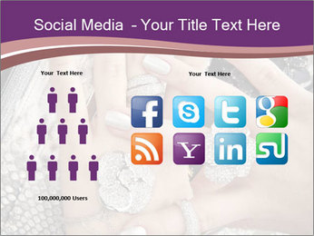 Hands with accessory PowerPoint Template - Slide 5