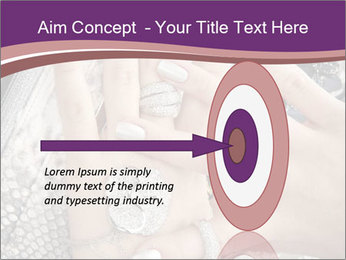 Hands with accessory PowerPoint Template - Slide 83
