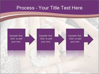 Hands with accessory PowerPoint Template - Slide 88