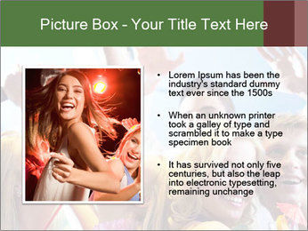 Cheerful friends dancing PowerPoint Template - Slide 13