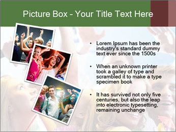 Cheerful friends dancing PowerPoint Templates - Slide 17