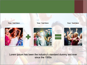 Cheerful friends dancing PowerPoint Templates - Slide 22