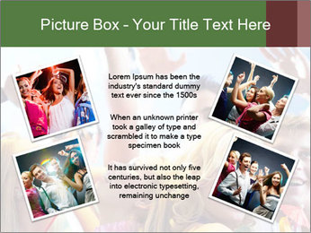 Cheerful friends dancing PowerPoint Templates - Slide 24