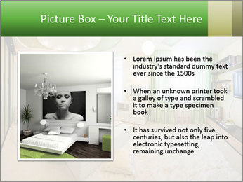 Apartment interior PowerPoint Template - Slide 13
