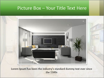 Apartment interior PowerPoint Template - Slide 15