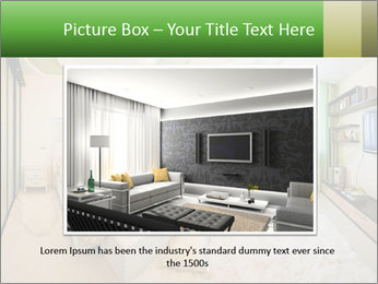 Apartment interior PowerPoint Template - Slide 16