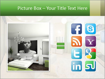 Apartment interior PowerPoint Template - Slide 21