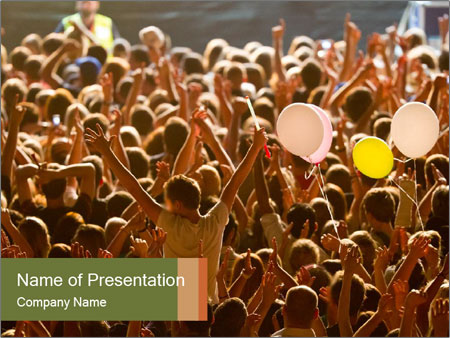 Live concert PowerPoint Template