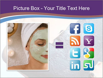 Woman with spa PowerPoint Templates - Slide 21