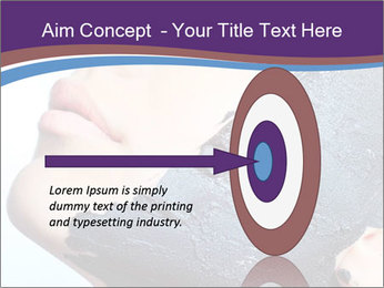 Woman with spa PowerPoint Templates - Slide 83