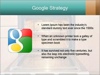 Empty open oven PowerPoint Template - Slide 10