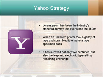 Empty open oven PowerPoint Template - Slide 11