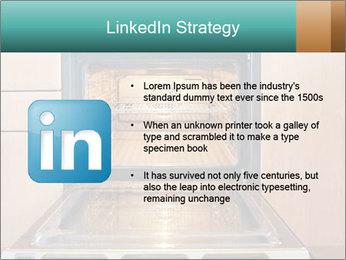 Empty open oven PowerPoint Template - Slide 12