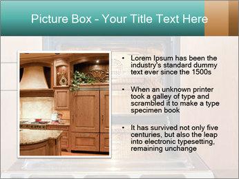 Empty open oven PowerPoint Template - Slide 13