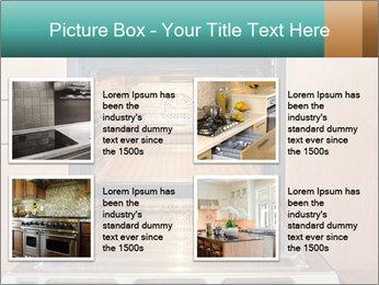 Empty open oven PowerPoint Template - Slide 14