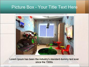 Empty open oven PowerPoint Template - Slide 15
