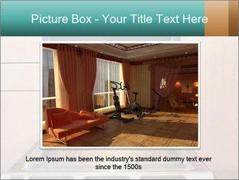 Empty open oven PowerPoint Template - Slide 16