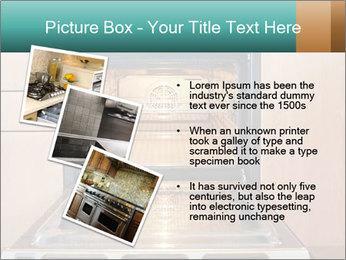Empty open oven PowerPoint Template - Slide 17