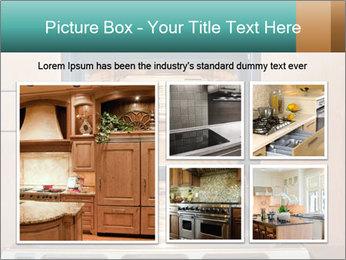 Empty open oven PowerPoint Template - Slide 19