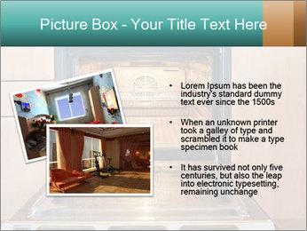 Empty open oven PowerPoint Template - Slide 20