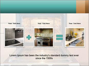 Empty open oven PowerPoint Template - Slide 22