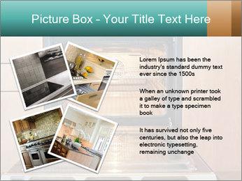 Empty open oven PowerPoint Template - Slide 23