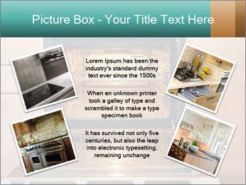 Empty open oven PowerPoint Template - Slide 24