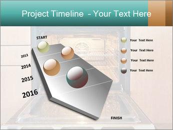 Empty open oven PowerPoint Template - Slide 26