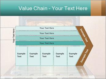 Empty open oven PowerPoint Template - Slide 27