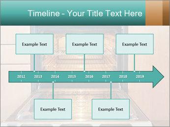 Empty open oven PowerPoint Template - Slide 28