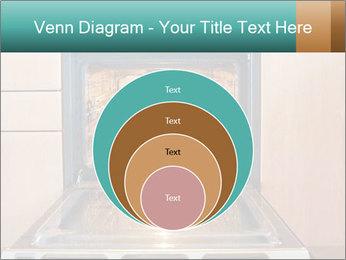 Empty open oven PowerPoint Template - Slide 34