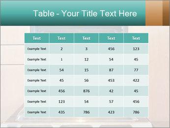 Empty open oven PowerPoint Template - Slide 55