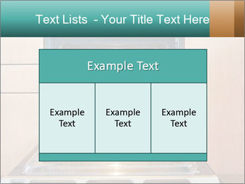 Empty open oven PowerPoint Template - Slide 59