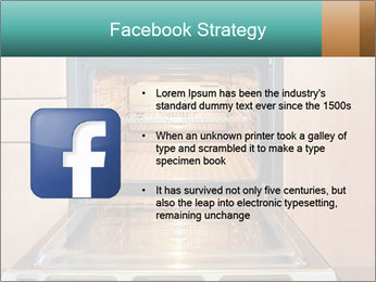 Empty open oven PowerPoint Template - Slide 6