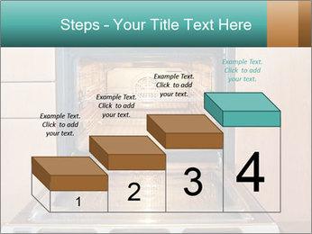 Empty open oven PowerPoint Template - Slide 64