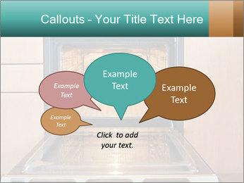 Empty open oven PowerPoint Template - Slide 73