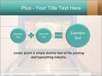 Empty open oven PowerPoint Template - Slide 75