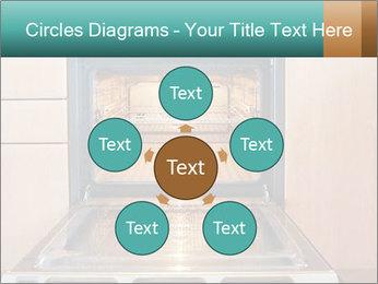 Empty open oven PowerPoint Template - Slide 78