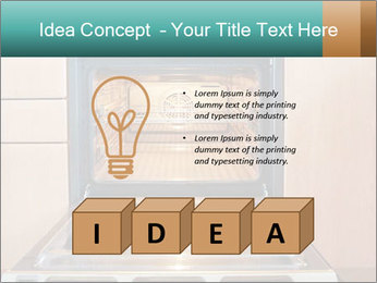 Empty open oven PowerPoint Template - Slide 80