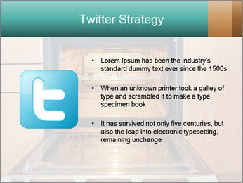 Empty open oven PowerPoint Templates - Slide 9