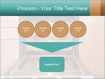 Empty open oven PowerPoint Template - Slide 93