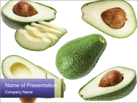 Avocado PowerPoint Templates
