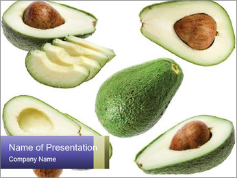 Avocado PowerPoint Templates - Slide 1