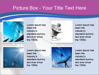 Satellite dish PowerPoint Template - Slide 14