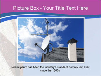 Satellite dish PowerPoint Template - Slide 15