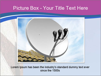 Satellite dish PowerPoint Template - Slide 16